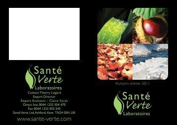 Tonic & Stimulation - Santé Verte