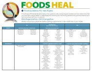 Guidelines for healthy foods and drinks supplied in school