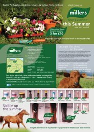 this Summer - Millers Town & Country