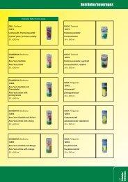 Getränke/beverages