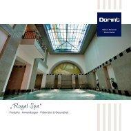 """""""Royal Spa"""" - Dorint Hotels & Resorts"""