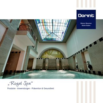 """Royal Spa"" - Dorint Hotels & Resorts"