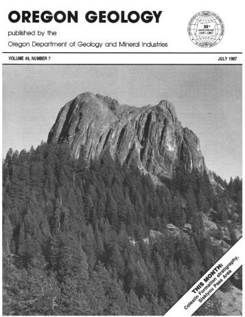 Hornbrook Formation - Oregon Department of Geology and Mineral ...