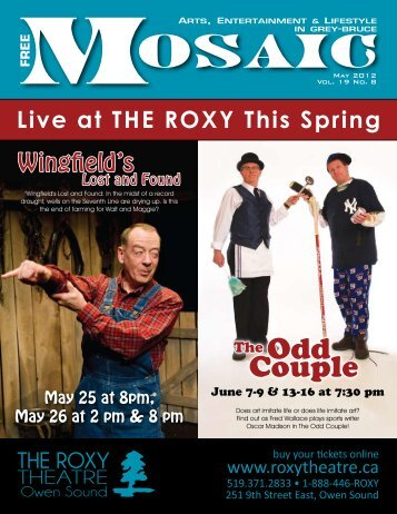 Live at THE ROXY This Spring - Mosaic