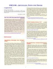 urz 5/09 – aktuelles, tipps und tricks - Urz - Universität Heidelberg
