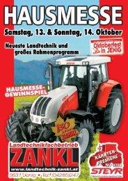 Zankl Hausmesse - Landtechnik ZANKL GmbH
