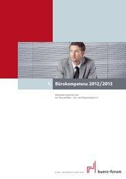 Bürokompetenz 2012/2013 1. - buero-forum.de