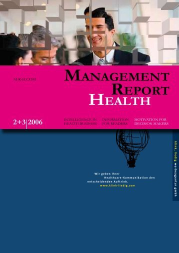MANAGEMENT REPORT HEALTH - M-r-h.com