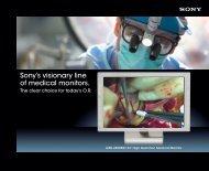 "The LMD-2450MD 24"" Full HD Medical Monitor - Sony"