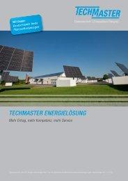 TECHMASTER ENERGIELÖSUNG - Techmaster GmbH