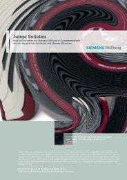 Junge Solisten - Siemens Stiftung