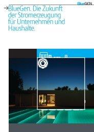 BlueGen. Die Zukunft der stromerzeugung für Unternehmen und ...
