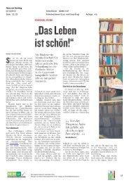 Das Leben ist schön - Neue am Sonntag - Österreichische ...