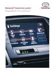 Bluetooth - Toyota