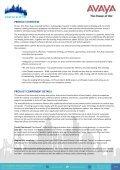 Avaya B100 Conference Phone R1.0 Offer ... - Hedefix Teknoloji - Page 3