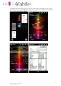 Nastavení Sony Ericsson XPERIA X1 - T-Mobile - Page 4