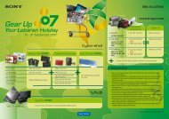 15 - 31 September 2007 - Sony Indonesia