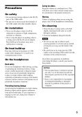Network Walkman - How To & Troubleshooting - Sony - Page 5