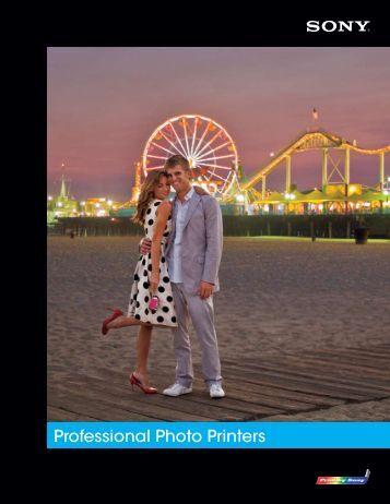 Professional Photo Printers - Sony