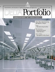 Delta 6, Sony - Lighting Research Center - Rensselaer Polytechnic ...