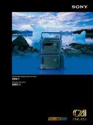 SRW-1 SRPC-1 - Sony
