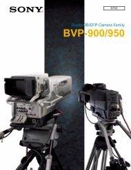 BVP-900/950 - Sony