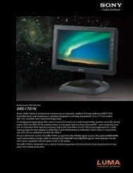 LMD1751W - Sony