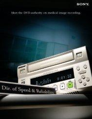 DVO-1000MD Medical DVD Recorder - Sony