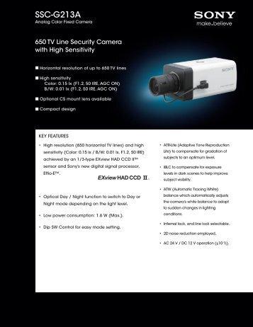 SSC-G213A - Sony