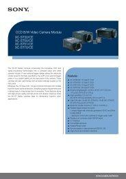 CCD B/W Video Camera Module