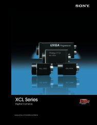 XCL Series Digital Camera - Sony
