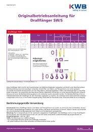 Drallfänger SW/S downloaden, bitte hier klicken - KWB