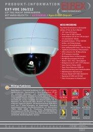 produkt-information ext-vde 106/212 - ELBEX (Deutschland) GmbH