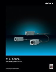 XCD Series - Sony
