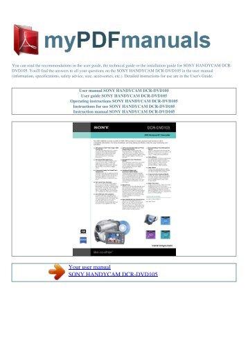 Dfs 800 switcher Manual