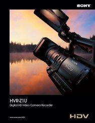HVR-Z1U - Sony