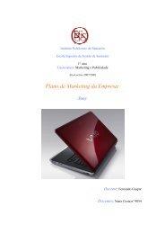 Plano De Marketing Da Empresa: Sony - Escola Superior de Gestão ...