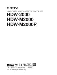 HDW-2000 HDW-M2000 HDW-M2000P - Arizona MPS