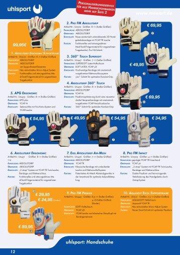 www.torwart.de uhlsport: Handschuhe - torwart.de-Forum