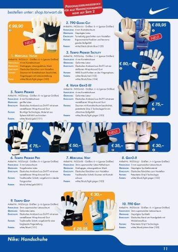Nike: Handschuhe - torwart.de-Forum