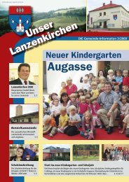 Gemeinde-Info 3/2009 - Lanzenkirchen