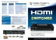 CHDMI-41AT Manual - Tributaries Cable