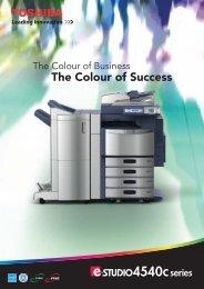 The Colour of Success - Toshiba