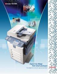 Spec Sheet - Toshiba Canada
