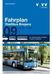 Fahrplan - Bodensee-Vorarlberg Tourismus