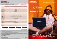 Page 1 Page 2 TosHIBA Leadin9 Innovation ))) TosHIBA satellite ...