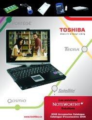 Mettez à niveau le disque dur de votre bloc-notes ... - Toshiba Canada