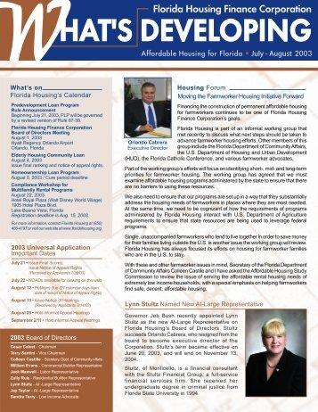 People - Florida Housing Finance Corporation