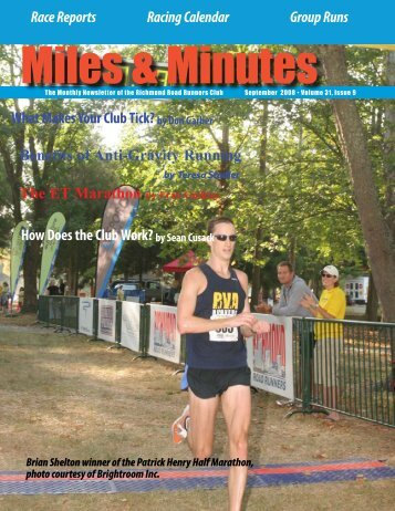 September 2008 - Richmond Road Runners