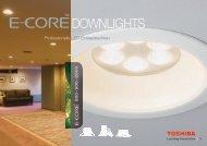 DOWNLIGHTS - Toshiba